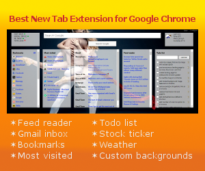 Best New Tab Page Extension for Google Chrome